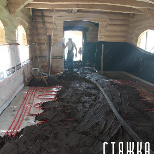 Полусухая стяжка в Казани